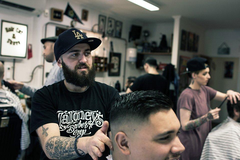 Barber shop culture Julian Maloney