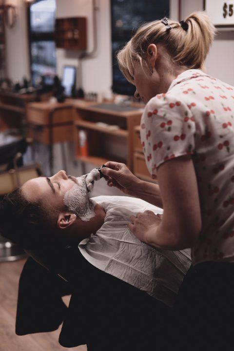 Barbershop shave
