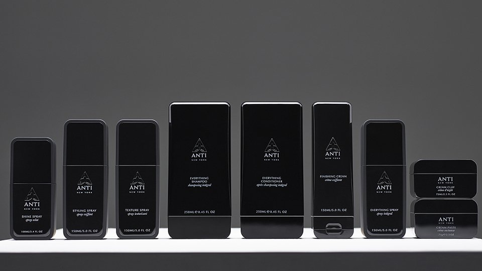 ANTI- New professional haircare range from New York CS&Co
