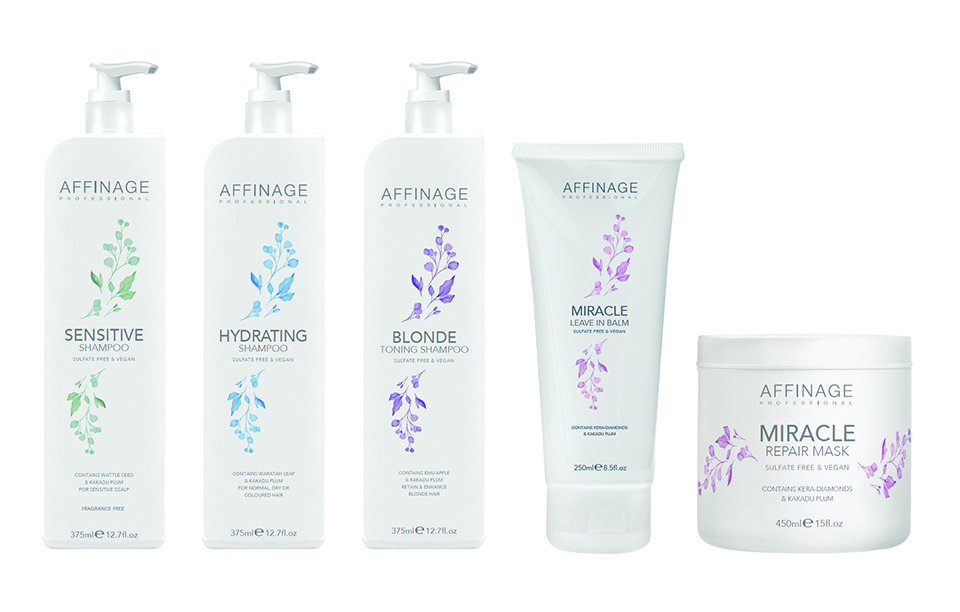 Affinage Professional CLEANSE & CARE range