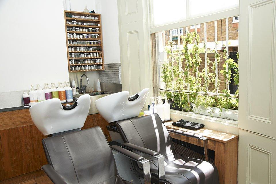 hair organics notting Hill Terry Wilson Kat Smith salon