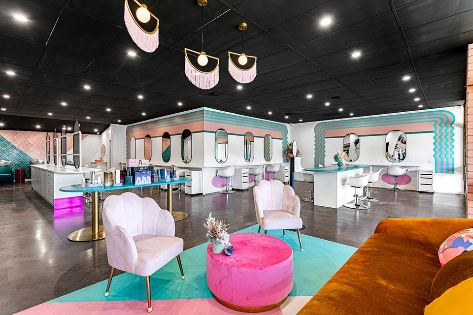 Adelaide's In Awe Salon Unveils A Colourful New Space!